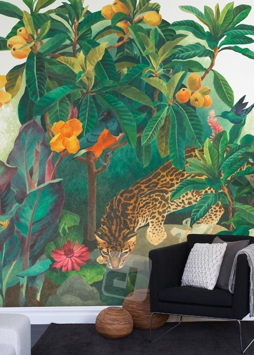 Vliesová tapeta Mr Perswall - Jungle Lounge 360 x 265 cm