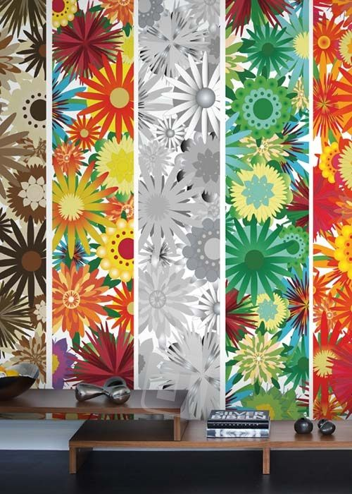 Vliesová tapeta Mr Perswall - Flower Power 2 225 x 265 cm