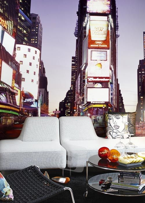 Vliesová tapeta Mr Perswall - Time Square 270 x 265 cm