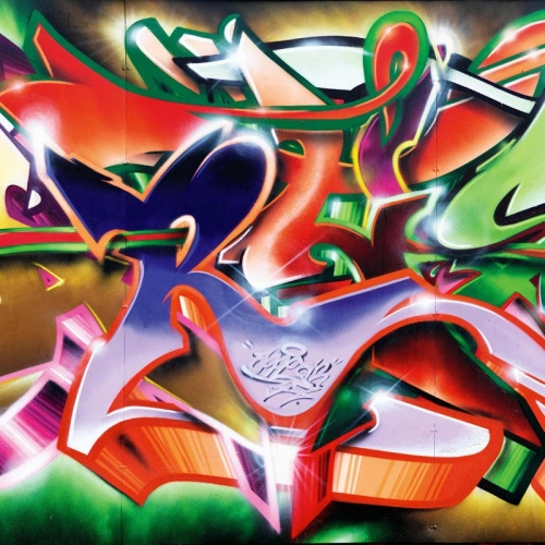 Vliesová tapeta Mr Perswall - Graffiti 405 x 265 cm