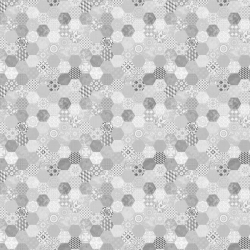 Vliesová tapeta Mr Perswall - Alhambra Tiles - Shadow Grey 360 x 265 cm